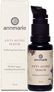 product image for Annmarie Skin Care Anti-Aging Serum - Hyaluronic Acid Serum with Rose Distillate + Life Everlasting Flower Extracts (15ml / 0.5 fl oz)