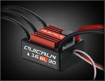 HobbyWing Hobby Wing 30110000 Quicrun-WP-16BL30 Waterproof ESC Car (1/8 Scale)
