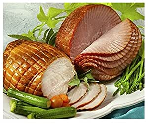 Smithfield Spiral Sliced Boneless Ham, Fully Cooked, Lean, Sweet Cured and Honey Glazed, 3-4 lbs.