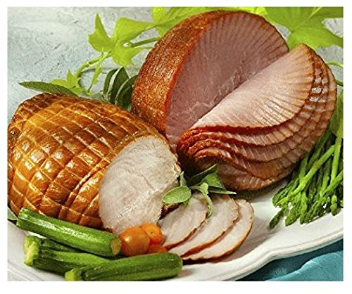 Gift Ham - Smithfield Spiral Sliced Boneless Ham, Fully Cooked, Lean, Sweet Cured and Honey Glazed, 3-4 lbs.
