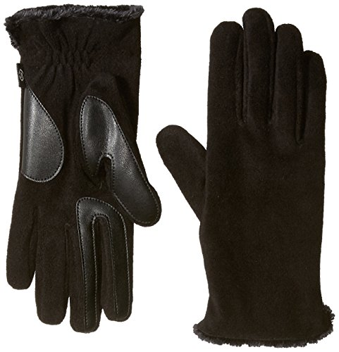 isotoner-womens-stretch-fleece-smartouch-gloves-with-spill-black-one-size
