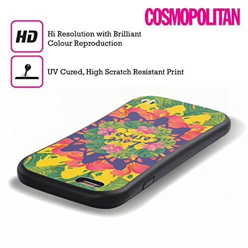 Official Cosmopolitan Kaleidoscope Tropical Hybrid Case for Apple iPhone 5 / 5s / SE