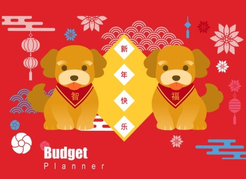 Budget Planner: Lucky Dog inspired,Expense Tracker, Budget Planner,Categorized Expense, Weekly Expense Tracker, Bill Organizer, Personal Business ... glossy vivid color (Dog zodiac) (Volume 3) pdf