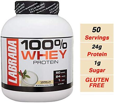 Labrada Leanpro 100 Whey Protein, Vanilla, 4.13 Pound