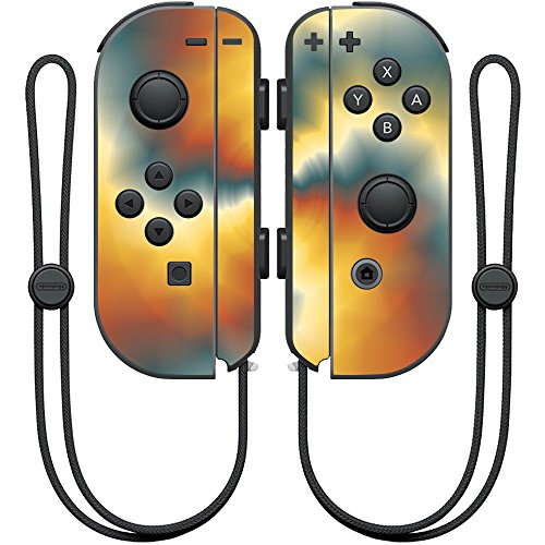 MightySkins Skin Compatible with Nintendo Joy-Con Controller wrap Cover Sticker Skins Eye of The Storm