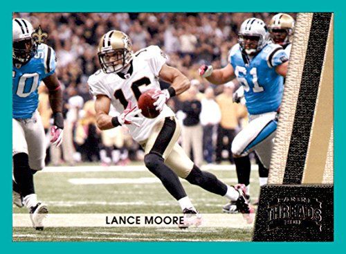 2011 Panini Threads #93 Lance Moore NEW ORLEANS SAINTS