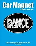 Dance Word Car Magnet