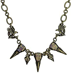 Kirks Folly Raven's Spell Necklace (Brasstone)