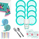 Costume SuperCenter Little Spa Deluxe Tableware Kit (Serves 8)
