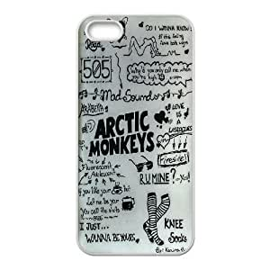 High quality Arctic Monkey band, Arctic Monkey logo, Rock band music protective case cover For Iphone 5 5S Cases LHSB9718232