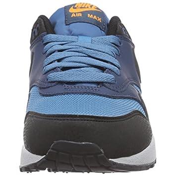 Nike Men s Air Max 1 Essential Stratus Blue Grey Black 537383-402