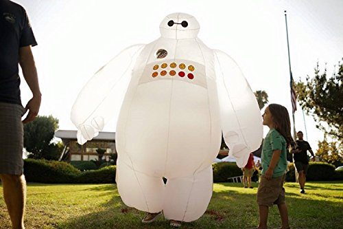 Kooy White Bulb Inflatable Costume Cosplay Halloween