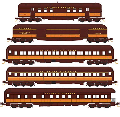 Micro-Trains MTL N-Scale Illinois Central/IC Heavyweight for sale  Delivered anywhere in USA