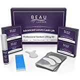 Lash Lift Kit For Professionals - For Perming, Curling and Lifting Eyelashes   Semi Permanent Salon Grade Supplies For Beauty Treatments   Includes Eye Shields, Pads and Accessories