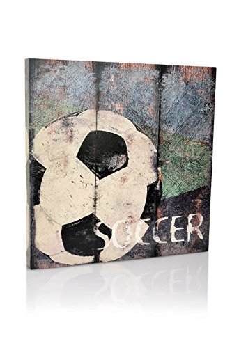 Soccer Sports Canvas Bedroom Vintage product image