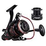 KastKing Sharky Baitfeeder III Spinning Reel 10+1 Shielded Stainless Steel BB - Carbon