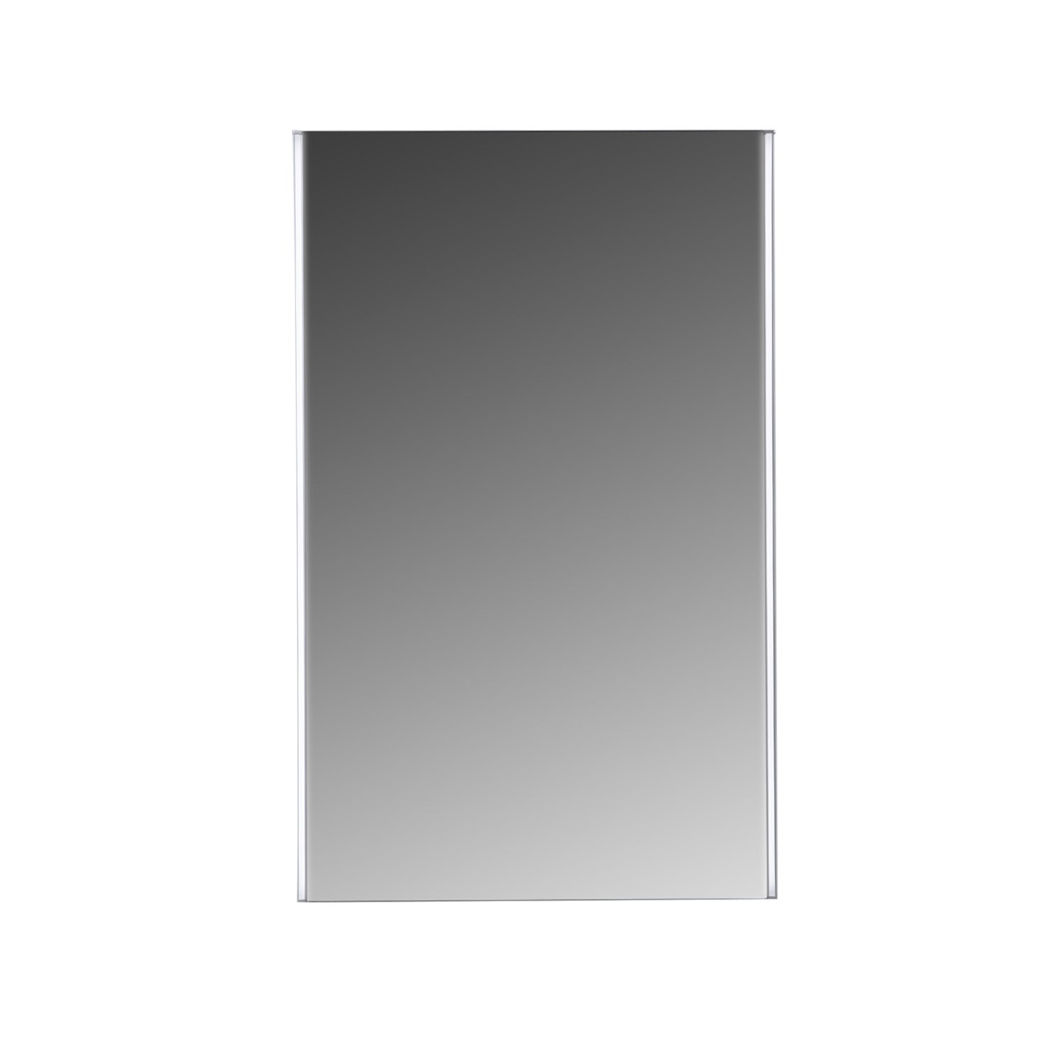 MAYKKE Peyton 20x32'' LED Mirror with Defogger, Wall Mounted Lighted Bathroom Vanity Mirror, Frameless Mirror, Horizontal or Vertical Mirror with Side LED Lighting UL Certified, LMA1042001