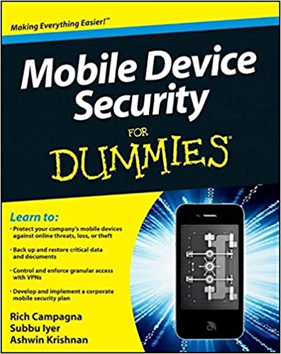 Amazon com: Mobile Device Security For Dummies
