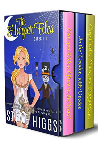 The Harper Files: Cases 1-3 in one place by [Higgs, Steve]