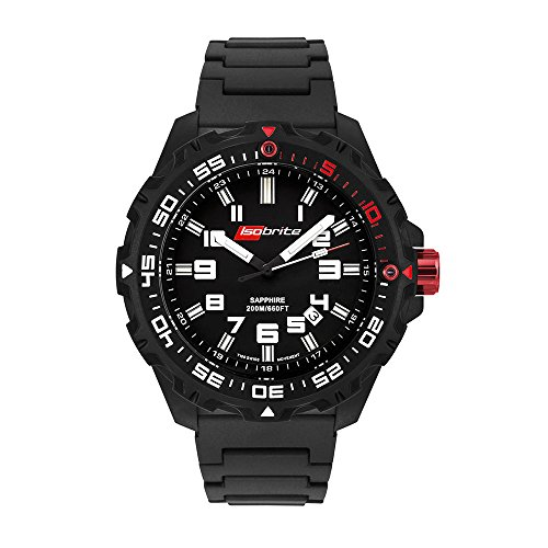 Isobrite ISO100-PU Super Bright T100 Tritium Watch with PU Band