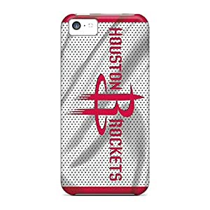 Defender Case With Nice Appearance (houston Rockets) For Iphone 5c