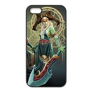 iphone5 5s Black phone case Naga Siren Dota 2 DOT5939217