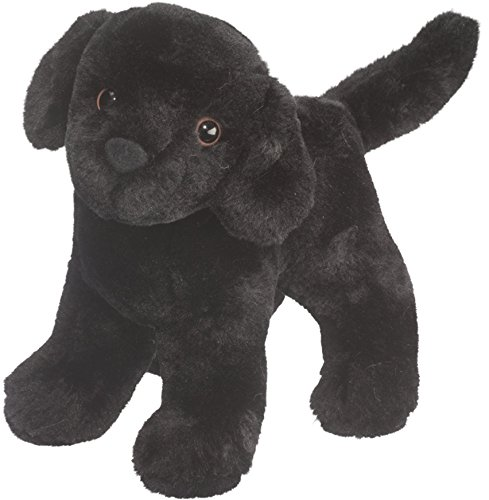 Abraham Black Lab 7 by Douglas Cuddle Toys