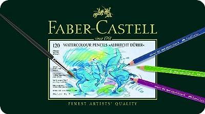 Albrecht Durer 120 Watercolor Pencil Set Tin