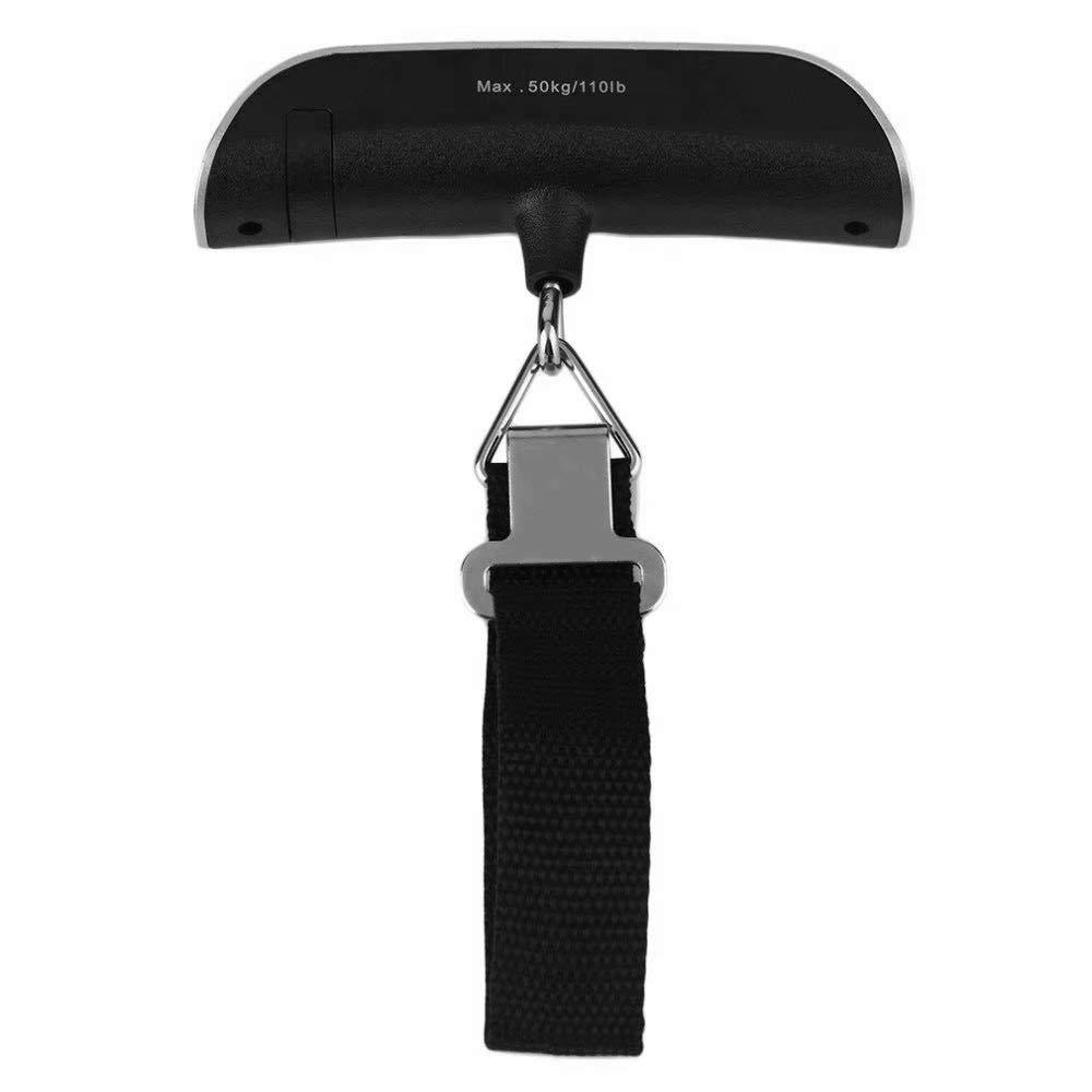 KingFurt 110lb//50kg Electronic Balance Digital Hanging Luggage Scale