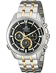 Casio Mens EFR-537SG-1AVCF Neon Illuminator Two-Tone Stainless Steel Watch
