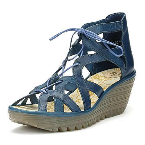 Blue Sandali London Donna Yeli719fly Fly 1xqSZ6Tf