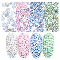 Opal Rhinestones for Nail Art Decoration 4 Pack