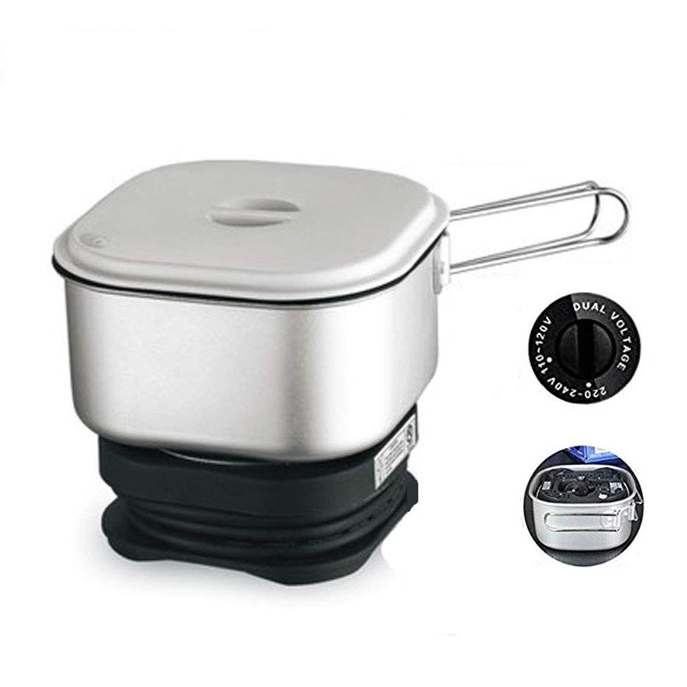 110V/220V Dual Voltage, Worldwide Use, Travel Cooker Portable Mini Electric Multi-pots Machine Hotel Travel Multi Cookers Onezili