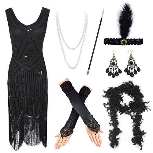 1920s Flapper Dress Roaring Great Gatsby Costume Dress