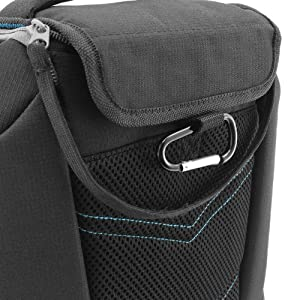 DLSR Compact Camera Case / Compact Camera Bag with Accessory Storage by USA Gear - Works with Nikon , Canon , Sony , Olympus and more DSLR , Mirrorless , Micro 4/3 & Point and Shoot Cameras from USA Gear