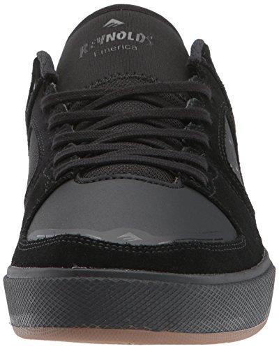 Der Reynolds G6 Skate-Schuh der Emerica Männer Schwarz / Schwarz / Gum