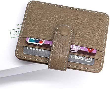 Color: Blue Gimax Card /& ID Holders Women Credit Card Wallet Leather Ladies Mini Change Purse Card Wallet Girl Small Purses Female ID//Bus Holders case