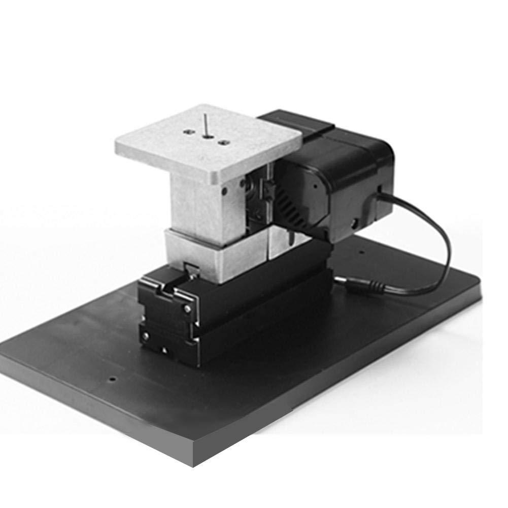 Mini Lathe Set 24W 110-240V 20000rpm US Power Cord 6in1 Pratical Mini Metal Lathe Machine DIY Kit for Families School Kids Make Woodworking Models