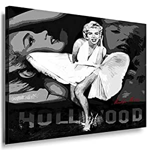 Art On Canvas - Frame 100x70x2cm Marilyn Monroe 5005