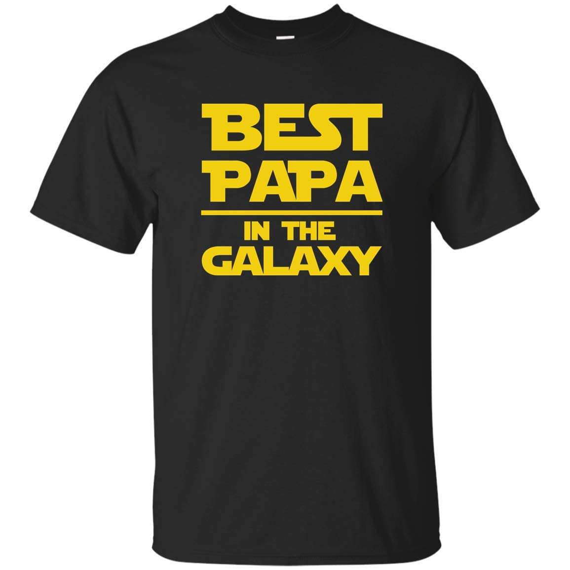 Best Papa In The Galaxy Themed Fun Gift S Unisex T Shirt 1237