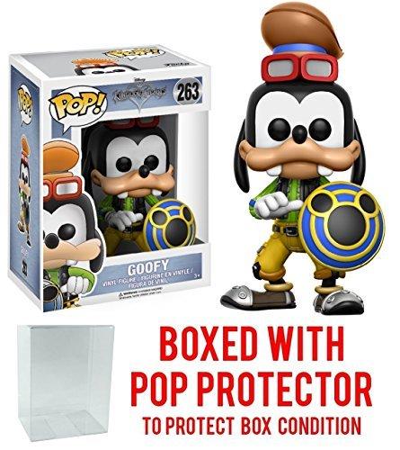 Funko Pop! Disney: Kingdom Hearts Goofy Vinyl Figure (Bundled with Pop BOX PROTECTOR CASE) ()