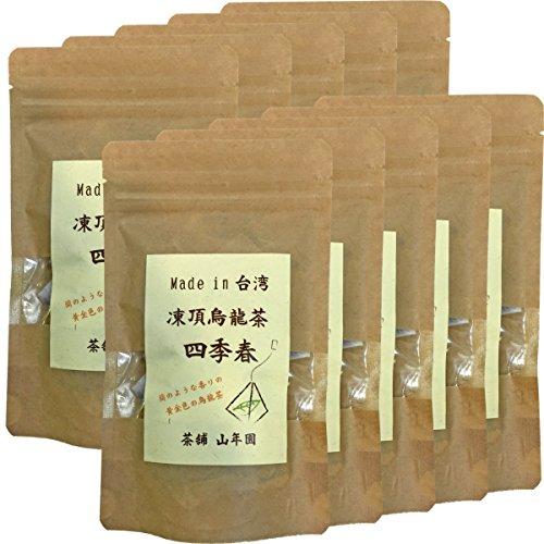 Japanese Tea Shop Yamaneen Chilling oolong tea Four season spring oolong tea Taiwanese tea pack 2 g ~ 15 packs x 10packs by Japanese Tea Shop Yamaneen