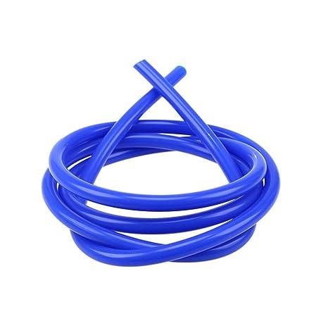 2 Metros Manguera de Silicona Azul Tubo de VACío Manguera de vacío tubo gasolina moto Línea