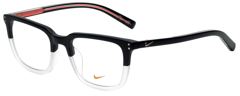 cff38299cf Amazon.com  Eyeglasses NIKE 37KD 010 MATTE BLACK-CRYSTAL CLEAR  Sports    Outdoors