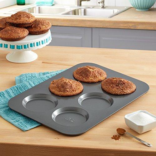 Chicago Metallic Professional Non-Stick Muffin Top Pan, 15.75-Inch-by-11-Inch by Chicago Metallic (Image #1)