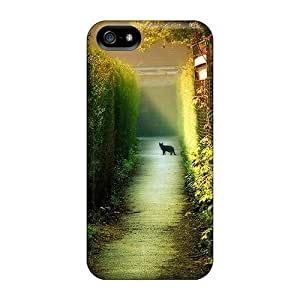 LJF phone case [olCjLvf1915eypey] - New Dawn Cats Protective Iphone 5/5s Classic Hardshell Case