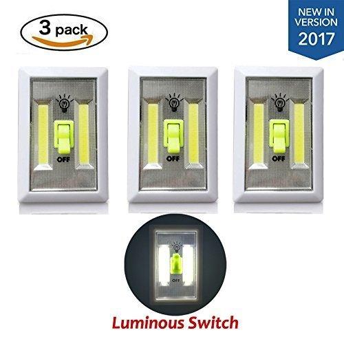 New Version Tomol Super Bright Cob Led Cordless Switch