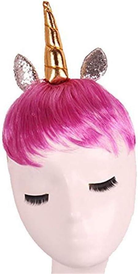 Pavian Peluca de Unicornio Disfraz de Halloween, para Disfraz de ...