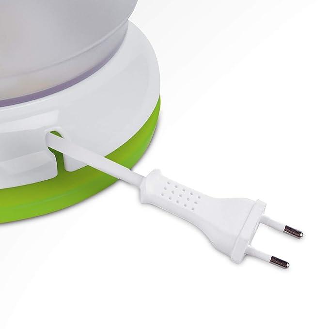 Ufesa EX4938 Activa - Exprimidor eléctrico, 40W, 1L, 2 conos, Giro en ambos sentidos, Palas para arrastrar la pulpa