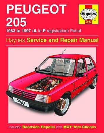 manual peugeot 205 diesel